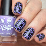 "'I lilac it like that"" stamping polish Lady and the Stamp"