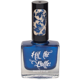 """I Blue it all on polish"" stamping polish"
