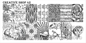 Creative Shop stamping plate 42