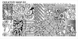 Creative Shop stamping plate 82