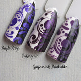 """Purple Reign"" stamping polish"
