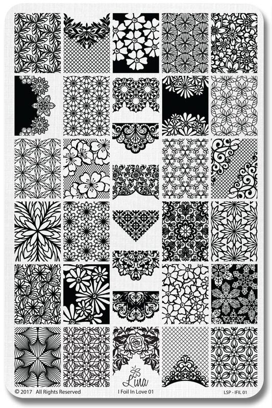 Lina stamping plate -