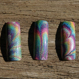 """Musk have the Holo"" stamping polish"