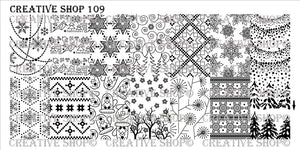 Creative Shop stamping plate 109