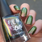 """The Flight of the Hummingbird"" multichrome nail polish by Hit the Bottle"