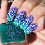 """Deep Ocean"" jelly polish"