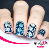 Whats Up Nails - B003 Sweater Weather stamping plate