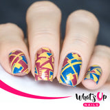 Whats Up Nails - Geo-Radical stamping plate