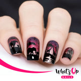 Whats Up Nails - Safari Ride stamping plate B040
