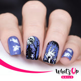 Whats Up Nails - B054 Haul 'r Win stamping plate