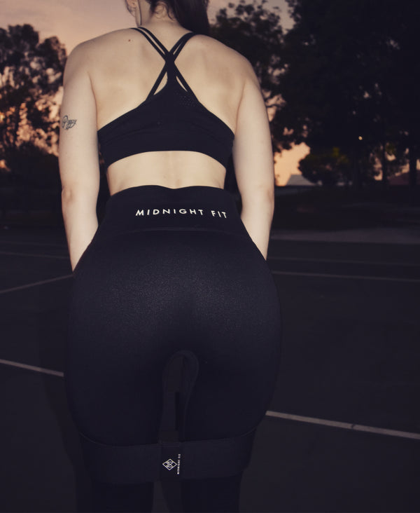 Midnight Fit Booty Bands