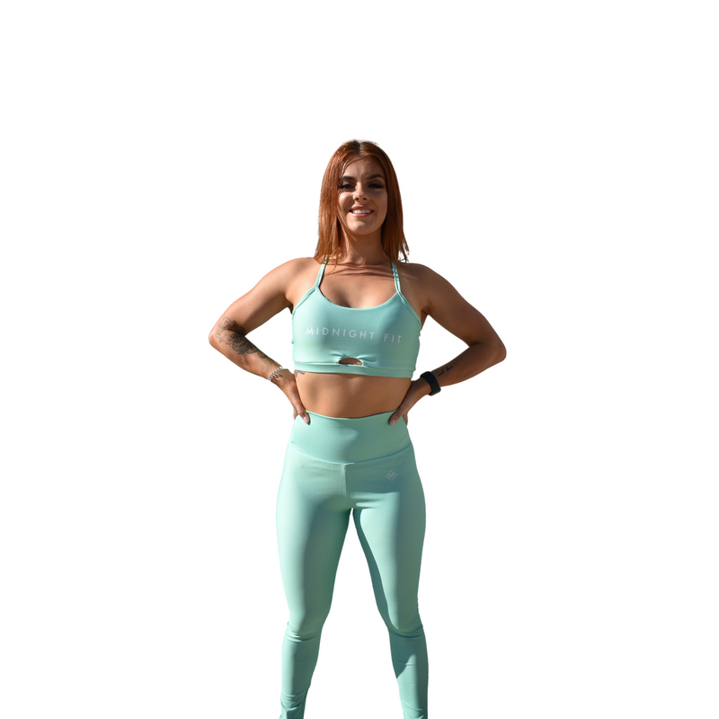 Energy Leggings - Mint - Midnight Fit