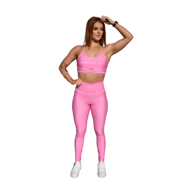 Energy Crop - Candy pink - Midnight Fit