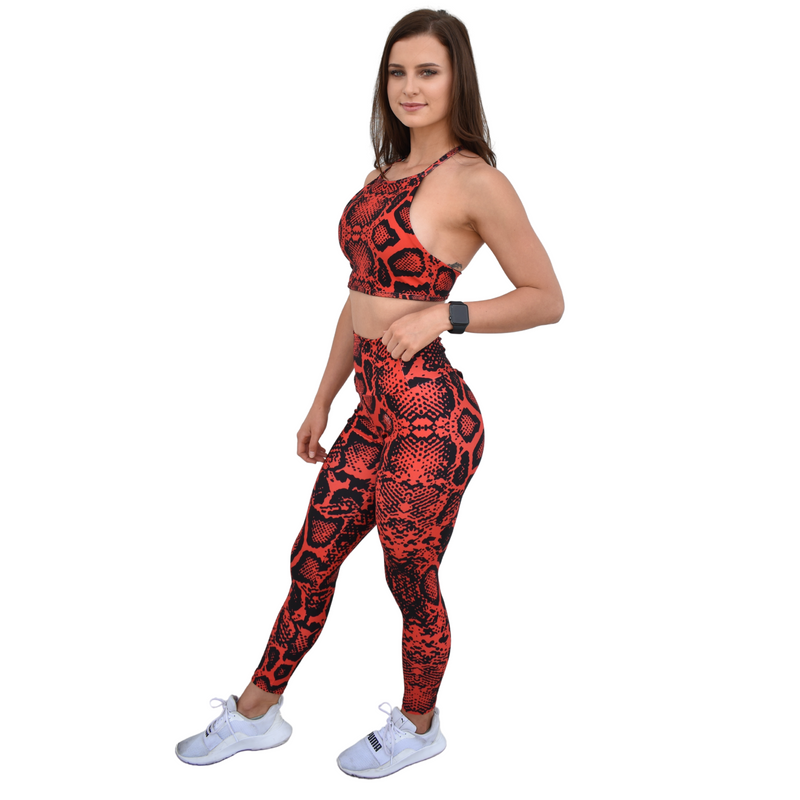 Own It Leggings - Snake Skin - Midnight Fit