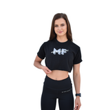 Casual MF Logo Tee - Black - Midnight Fit