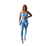 Energy Leggings - Ocean Blue - Midnight Fit