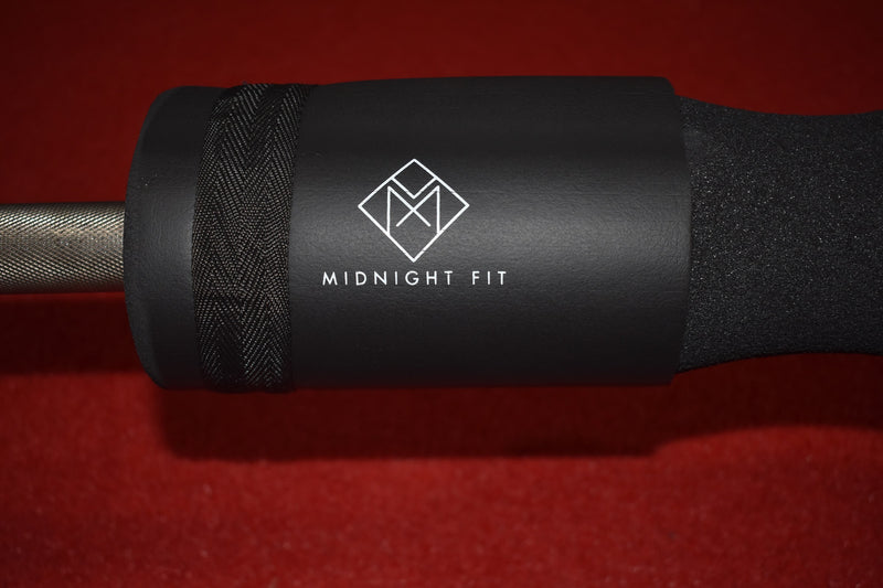 Barbell Pad With Carry Bag & Straps - Midnight Fit