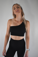 Fearless Crop v2 - Black - Midnight Fit
