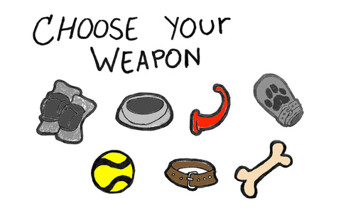 CHOOSE YOUR WEAPON by featured artist Pup Tana