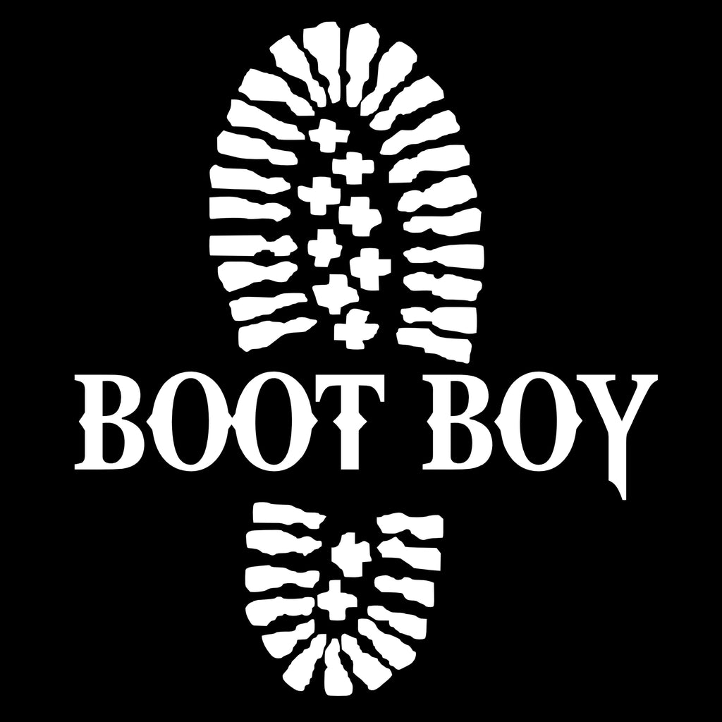 Boot Boy Window Decal