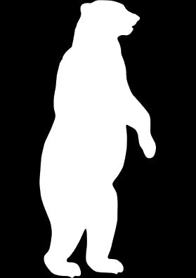 Standing Bear Window Decal