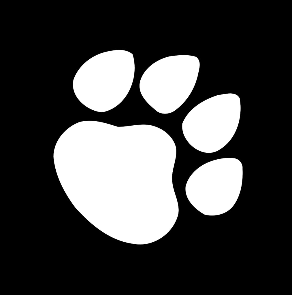 Puppy Paw Print Window Decal