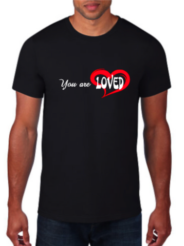 You are LOVED, Karrissa Wade fundraiser shirt and masks