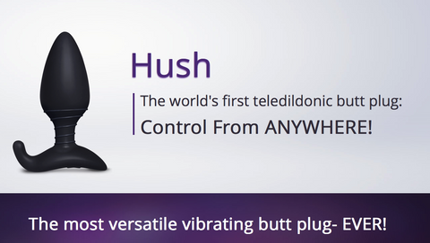 HUSH Remote Control Vibrating Butt Plug