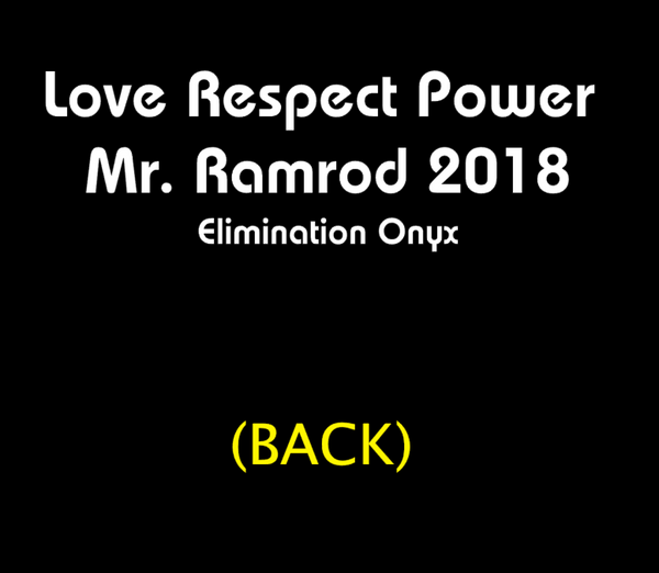 I am ENOUGH (Mr Ramrod 2019) shirt