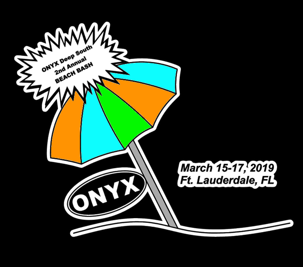 ONYX Beach Bash Fundraiser Shirt