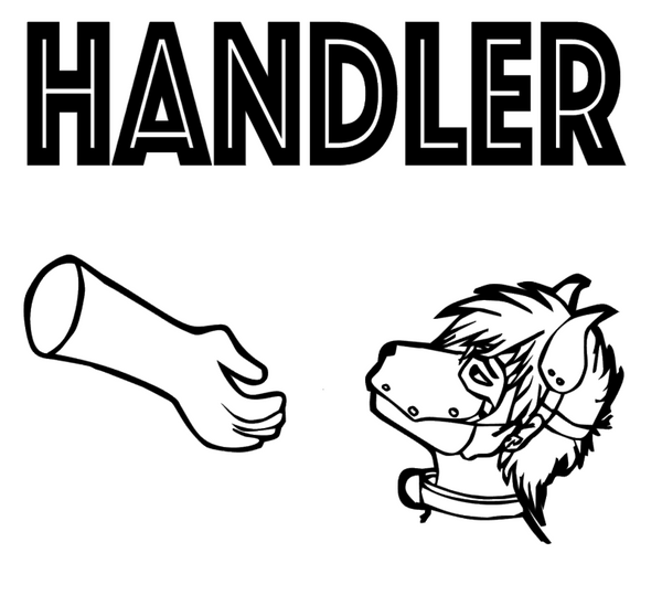 Handler by featured artist Pup Tania