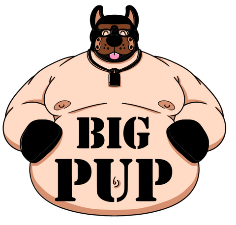 Big Pup by featured artist Christopher Hagen