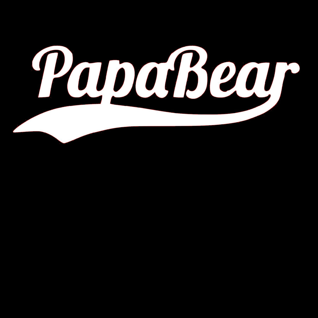 PapaBear Window Decal