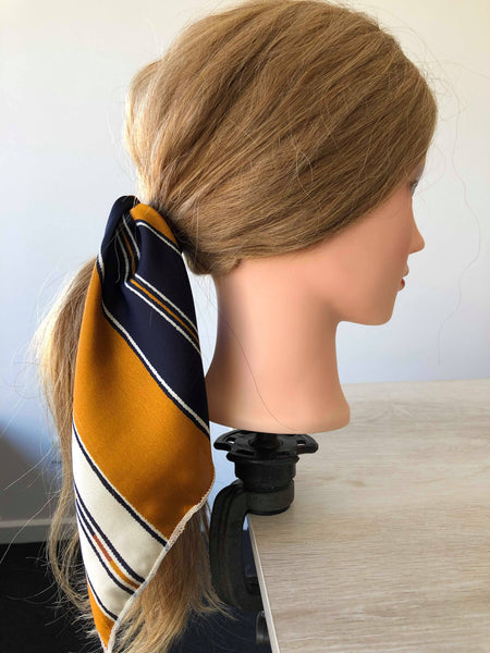 Vintage Style Hair Scarf - BOLDLUXE & CO.