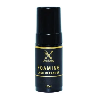 LashGame Eyelash Extension Foaming Cleanser 100ml with Brush - BOLDLUXE & CO.