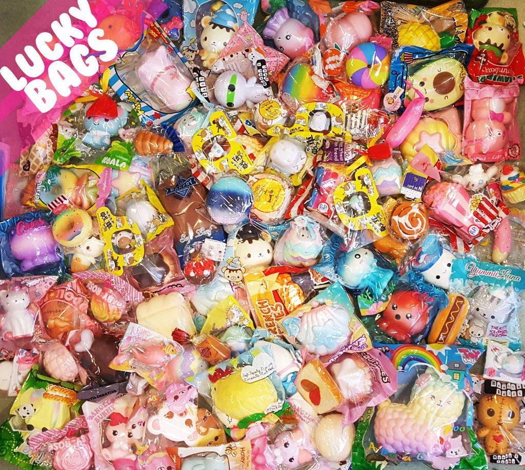 Licensed Squishy Discount Lucky Grab Bags