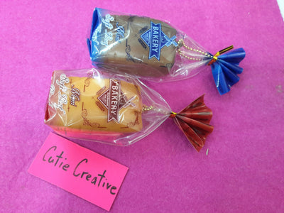 CUTIE CREATIVE ORIGINAL SLOW RISING MINI SOFT LOAF BREAD SQUISHY