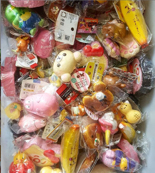 Squishy Shop SEMI & SUPER RARE SQUISHY LUCKY GRAB BAG 4PC