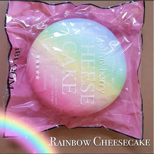 iBloom Japan Super Jumbo RAINBOW Cheesecake Squishy