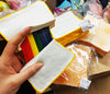 Japan / Korea Rare Rainbow Grilled Cheese Sandwich Toast Stretchy & Squishy