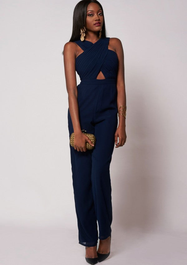 Alize Jumpsuit Navy