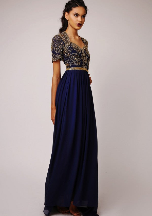 CUSTOM BRIDESMAID Amanda Maxi Dress