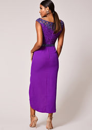 Apricot Dress Purple