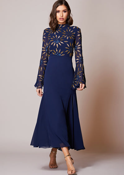 Belammy Dress Navy