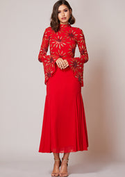 Belammy Dress Red