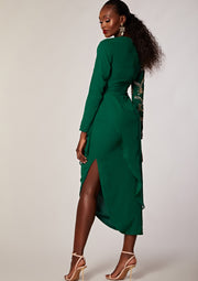 Bellissa Dress Green