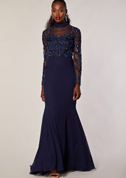 Coley Dress Navy