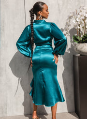 Crystal Skirt TEAL