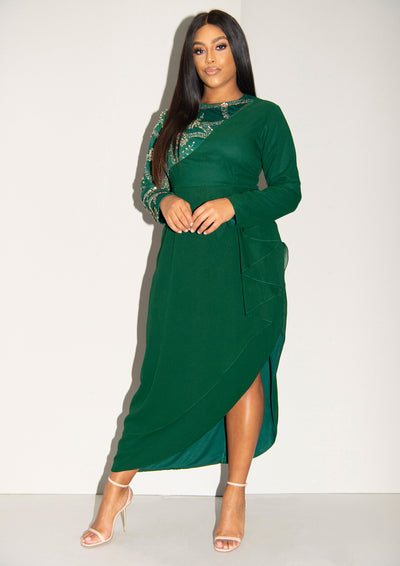CURVE Bellissa Dress Green