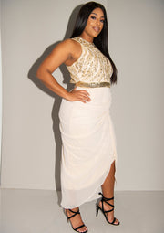 Genevieve Dress Cream